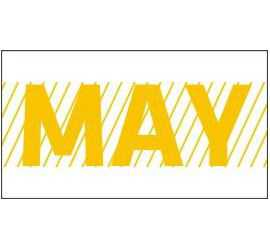 Month May / MAY Sticker for...